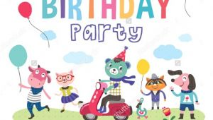 Free Animated Birthday Party Invitations 42 Kids Birthday Invitation Templates Free Sample