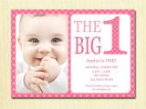 Free Birthday Invitation Templates for 1 Year Old Baby First Birthday Invitations Bagvania Free Printable