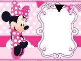 Free Birthday Invitation Templates Minnie Mouse Free Printable Minnie Mouse Invitation Templates Part 1