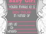 Free Blank Baby Shower Invites Blank Baby Shower Invitations