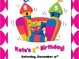 Free Bounce Party Invitation Template Bounce House Birthday Invitations Template Best Template
