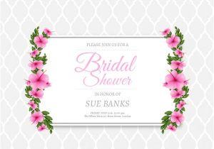 Free Bridal Shower Invitation Bridal Shower Invitations Free Templates – orderecigsjuice