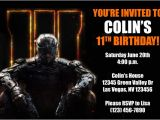 Free Call Of Duty Birthday Party Invitations Call Of Duty Invitations From General Prints