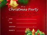 Free Christmas Party Invitation Template Christmas Invitation Template and Wording Ideas