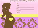 Free Customizable Printable Baby Shower Invitations Custom Baby Shower Invitations Free
