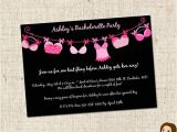 Free Downloadable Bachelorette Party Invitations Printable Bra Line Bachelorette Party Invitations 803 by