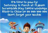 Free Editable Paw Patrol Birthday Invitations Paw Patrol Party Invitation Template Postermywall