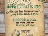 Free Fish themed Birthday Party Invitations Printable Fishing Birthday Invitation Fishing themed