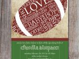Free Football Baby Shower Invitations Football Baby Shower Invitation Sports Baby Shower by
