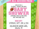 Free Football Baby Shower Invitations Printable Football Baby Shower Invitation It S A by