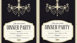 Free formal Dinner Party Invitation Template 62 Printable Dinner Invitation Templates Psd Ai Word