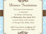 Free formal Dinner Party Invitation Template Fab Dinner Party Invitation Wording Examples You Can Use