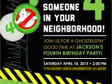 Free Ghostbusters Birthday Invitations Best Ghostbusters Birthday Invitations Templates