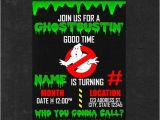 Free Ghostbusters Birthday Invitations Personalized Ghostbusters Birthday Invitation Party by