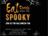 Free Halloween Party Invitation Template Free Printable Halloween Party Invitations 2018 Template