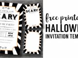 Free Halloween Party Invitation Template Halloween Invitations Free Printable Template Paper