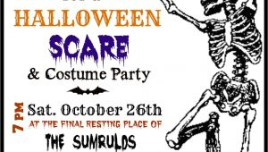 Free Halloween Party Invitation Templates Crafty In Crosby Halloween Party Invitations with Template