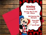 Free Harley Quinn Birthday Invitations Downloadable Dc Superhero Harley Quinn themed Birthday