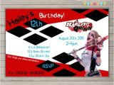Free Harley Quinn Birthday Invitations Harley Quinn Invitation top Party themes