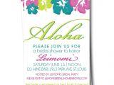 Free Hawaiian themed Bridal Shower Invitations Bridal Shower Invitations Free Hawaiian Bridal Shower