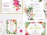 Free Hawaiian themed Bridal Shower Invitations Tropical themed Bridal Shower Invitations & Ideas