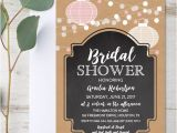 Free Instant Download Bridal Shower Invitations Editable Bridal Shower Invitation Rustic Kraft Chalkboard