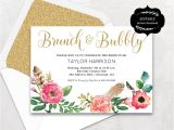 Free Instant Download Bridal Shower Invitations Floral Bridal Shower Template Printable Bridal Shower