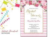 Free Instant Download Bridal Shower Invitations Pink Floral Invitation Bridal Shower Printable