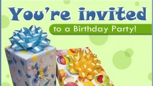 Free Invitation Ecards for Birthday Party Free Birthday Party Ecard Email Free Personalized
