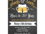 Free Male 21st Birthday Invitations Cheer and Beers Birthday Party Invitation for Men