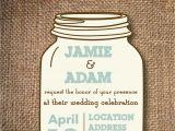 Free Mason Jar Bridal Shower Invitation Templates Kitchen & Dining