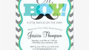 Free Mustache Baby Shower Invitation Templates Mustache Baby Shower Invitations – Gangcraft
