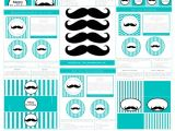 Free Mustache Birthday Party Printables Free Moustache Party Printables Kids Ideas Pinterest