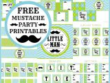 Free Mustache Birthday Party Printables the Little Prince Invitations and Free Printables Kids
