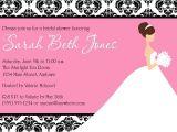 Free Online Bridal Shower Invitations Bridal Shower Invitation Template Free Printable