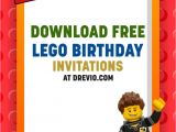 Free Party Invitation Templates Lego Free Printable Lego Birthday Invitation Templates Free