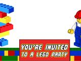 Free Party Invitation Templates Lego Free Printable Lego Invitation Templates Invitations Online