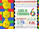 Free Party Invitation Templates Lego Smile Like You Mean It Portfolio