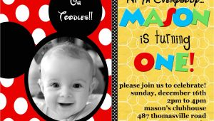 Free Personalized Mickey Mouse Birthday Invitations Mickey Mouse Invitations Personalized Mickey Mouse