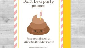 Free Poop Emoji Birthday Invitations 115 Best Images About Emoji Party On Pinterest