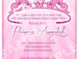 Free Princess Birthday Invitation Template Princess Birthday Invitation Diy Princess Crown Birthday