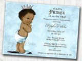 Free Printable African American Baby Shower Invitations Boy Baby Shower Invitation African American Baby Shower