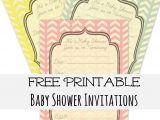 Free Printable Baby Shower Invitation Free Baby Shower Invitations Templates Printables