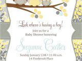 Free Printable Baby Shower Invitation Templates Owl Baby Boy Shower Invitation Printable Baby Shower
