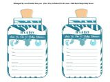 Free Printable Baby Shower Invitations for A Boy Boy Printable Bottle Baby Shower Invitations