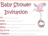 Free Printable Baby Shower Invitations for A Girl Printable Girl Baby Shower Invitations