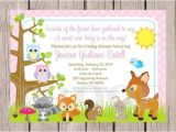 Free Printable Baby Shower Invitations Woodland Animals 9 Best Of Woodland forest Animals Printable Baby