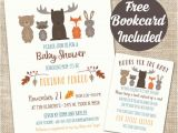 Free Printable Baby Shower Invitations Woodland Animals Woodland Animal Baby Shower Invitation