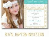 "Free Printable Baptism Invitations Lds Lds Baptism Invitation ""royal"" Digital Printable"
