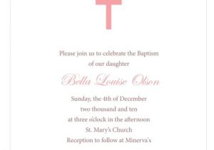 Free Printable Baptism Invitations Templates Baby Christening Invitations
